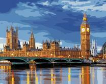 Лондонский мост в сумерках