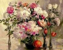 Букет богатых цветов