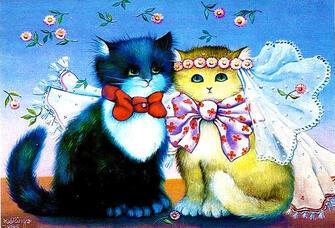 Картина по номерам 40x50 Наряженные кошки