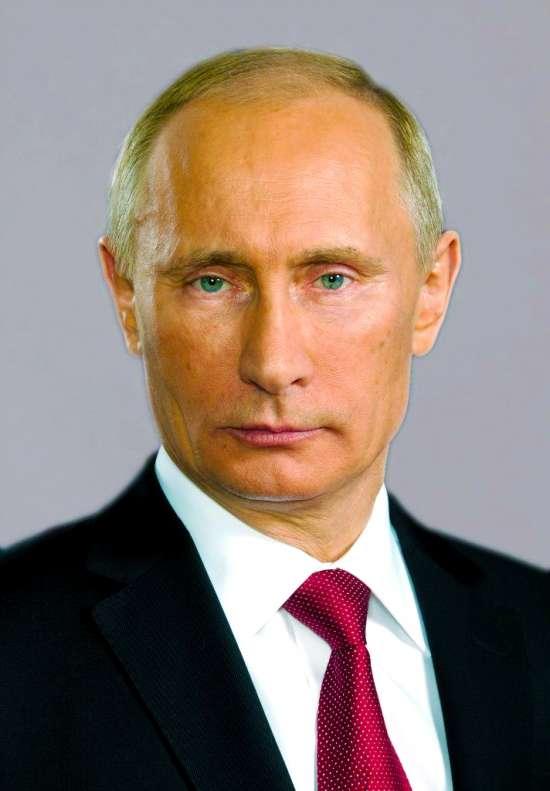 Картина по номерам 40x50 Владимир Путин