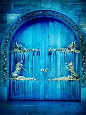 Картина по номерам 40x50 Неизведанные ворота