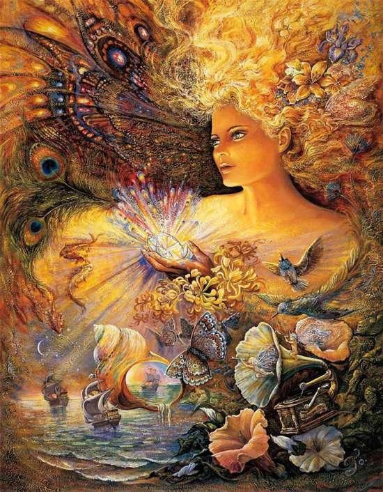 Картина по номерам 40x50 Морская царевна