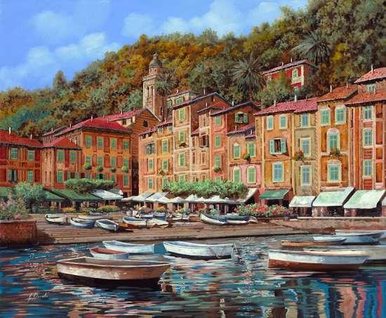 Картина по номерам 40x50 Портофино в Италии