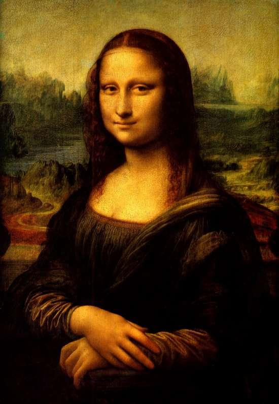 Картина по номерам 40x50 Леонардо да Винчи. Мона Лиза