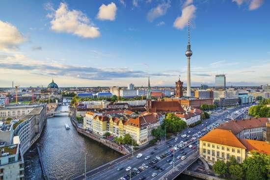 Картина по номерам 40x50 Берлин, Германия