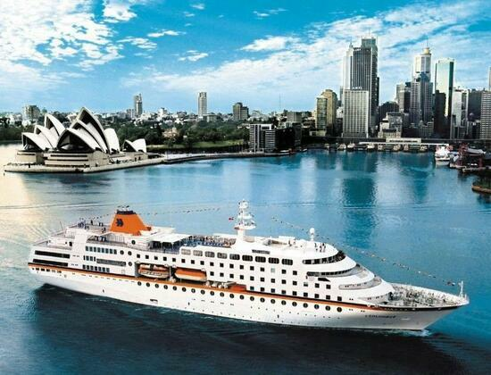 Картина по номерам 40x50 Лайнер в Сиднее
