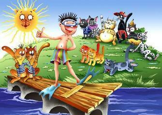 Картина по номерам 40x50 Летние развлечения на пляже