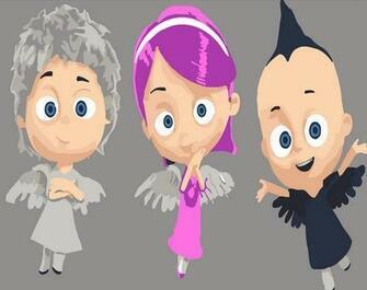 Картина по номерам 20x30 Три современных ангела