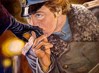 Картина по номерам 40x50 Джентльмен целует даме руку