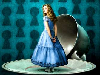 Картина по номерам 40x50 Алиса в Стране чудес