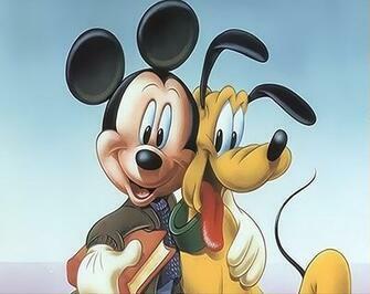 Картина по номерам 20x30 Маус с собакой