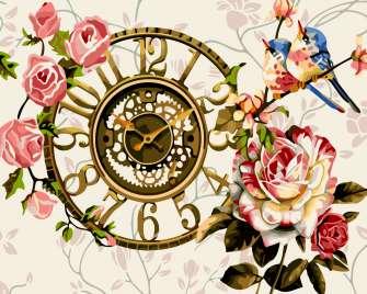 Купить часы и розы за 619 руб. в Москве