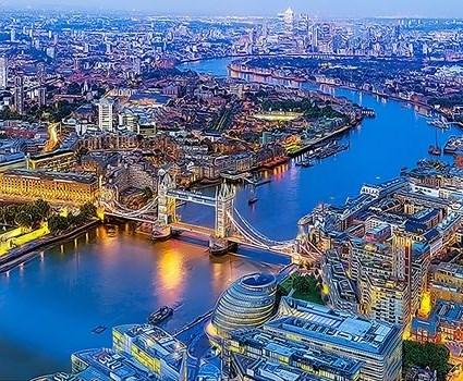 Картина по номерам 30x40 Тауэрский мост через Темзу