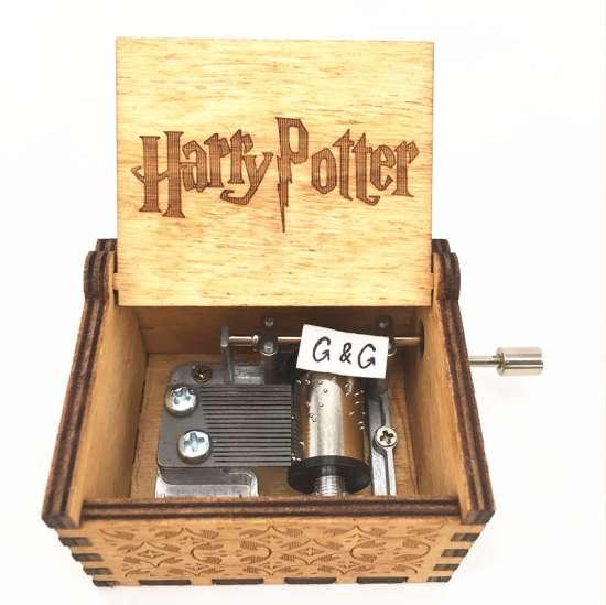 Музыкальная шкатулка Гарри Поттер Музыкальная шкатулка Гарри Поттер, ручная